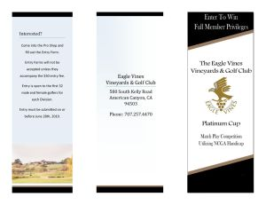 Home - Eagle Vines Golf Club